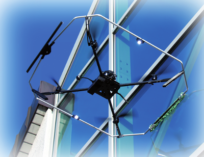 Let The Drones Clean For You Window Cleaning Drones